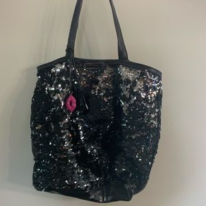 Betsey Johnson sequin bag!!